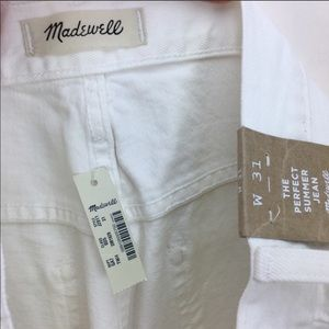 Madewell Jeans - Madewell The Perfect Summer White Jeans 31